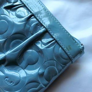 Coach Bags - Coach Patent Leather Wristlet